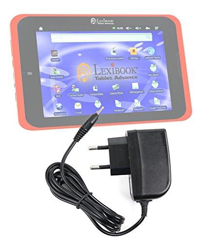 DURAGADGET Chargeur Secteur de première qualité(2A) pour tablette tactile enfant Lexibook Tablet XL MFC500FR