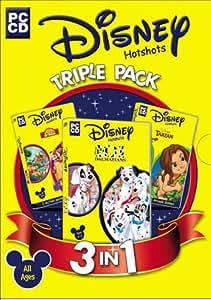 Disney Triple Pack (101 Dalmatians, The Lion King, Tarzan)