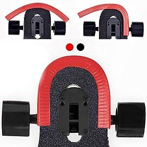 Acoser Skateboard Deck Longboard Nasenschutz Gummi Streifen Kantenschutz der Perfekte Schutz Für Dein Deck Geeignet Für…