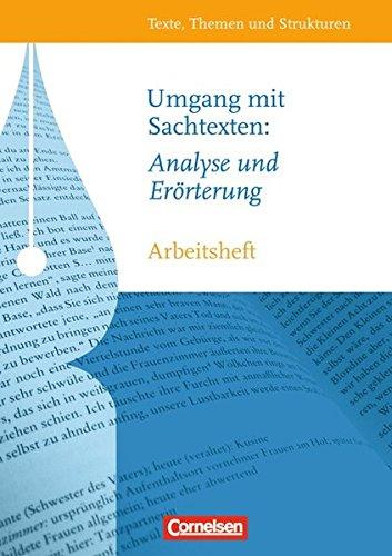 Texte, Themen und Strukturen - Arbeitshefte - Abiturvorbereitung-Themenhefte: