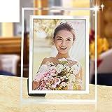 DHWJ Gedeckter Tisch glasrahmen, Kreative Kinder fotorahmen einrichten fotorahmen fotoalbum Foto Frame Karten-A 15.3x20.3cm(6x8inch)