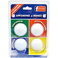 Second Chance On Par Awesome 4 Some Four Joke Balls - Exploder, Jetstreamer, Floater & Unputtaball