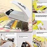 #10: Generic New White Portable Sealing Tool Heat Mini Handheld Plastic Bag Impluse Sealer