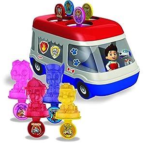 Amav-Maletín de Paw Patrol Ice-Pops camión Kit de máquina para niños-Kit para Hacer tu Propio Paw Patrol Ice-Pops con Tus Personajes Favoritos.