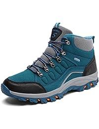 Super Lee Herren Damen Wasserdicht Trekking Boots Warm Gefüttert Wanderschuhe Outdoor Wander Schuhe Winter Stiefel 39-46