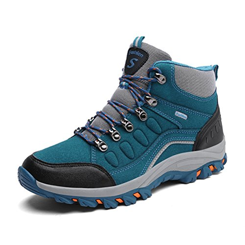 Super Lee Herren Damen Wasserdicht Trekking Boots Warm Gefüttert Wanderschuhe Outdoor Wander Schuhe...