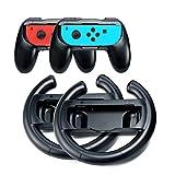 Joy Con Controller Griff Halter für Nintendo Switch 4in1 Ersatz Joycon Lenkrad für Mario Kart Gear Club Unlimited Cars