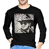 Photo de Hank Williams Jr Men's Comfort Soft Long Sleeve Outdoor T Shirt 100% Cotton Printing T-Shirts Tee Black par aiGosry