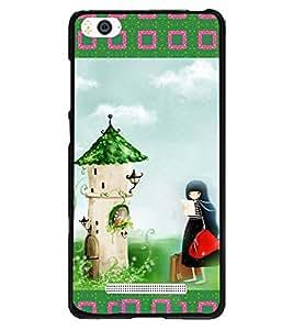 Printvisa 2D Printed Girly Designer back case cover for Xiaomi Mi4i - D4151