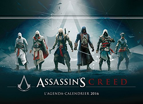 L'agenda-Calendrier 2016 Assassin's Creed