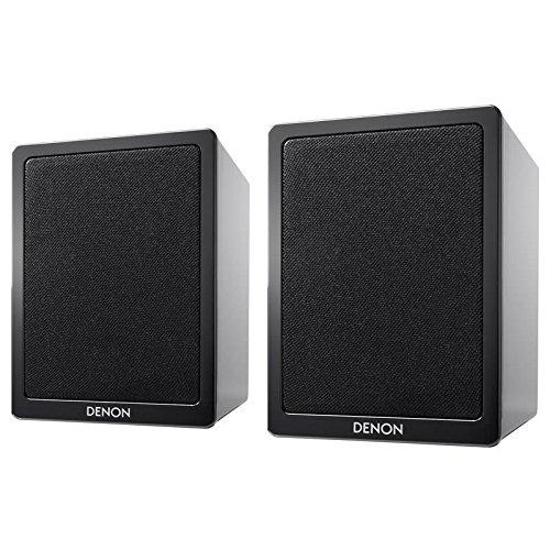 Denon SC-N9 2 vías par de altavoces de negro de alto brillo