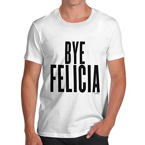 Herren Bye Felicia T-Shirt Weiß