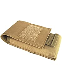 Segolike Outdoor Universial MOLLE Cell Phone Pouch Belt Loops Waist Bag Case Smartphone Holster Cover For 5.5inch...
