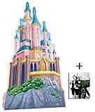 Disney Princess Schloss übergroß Pappfiguren / Stehplatzinhaber / Aufsteller - Enthält 8X10 (25X20Cm) starfoto