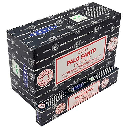 Incienso Satya -Palo Santo - 12 cajas de 15 varillas
