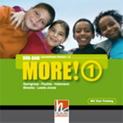 MORE! 1 DVD-ROM mit Schularbeiten-Training: Einzelplatzversion
