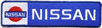 "NISSAN GTR Skyline Nismo Embroidered Sew iron on Patch Dimensions:ca 4.5""Width x 1.25""Height Ecusson brode Ecussons Imprimes Ecussons Thermocollants Broderie Sur Vetement Ecusson Sold SSLINK"