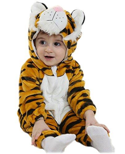 Arrowhunt Baby Junge Mädchen Unisex Süß Tiere Hoodie Overalls mit Kapuzen