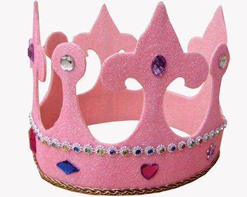 dress-up-america-646-corona-alta-da-principessa-taglia-da-bambini-multicolore