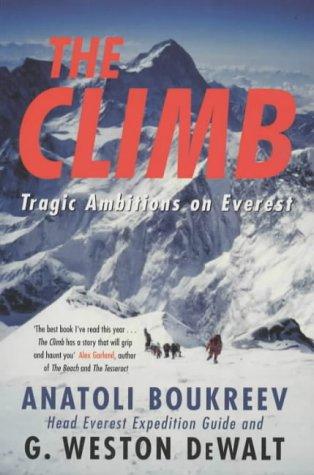 Buchseite und Rezensionen zu 'The Climb: Tragic Ambitions on Everest' von Anatoli Boukreev