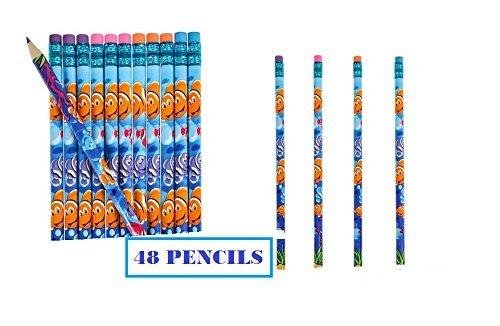 48-clownfish-aquatic-pencils-fun-christmas-birthday-party-favors-teacher-incentive-gifts-school-chur