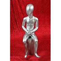 HeuSa Tech Window mannequin Boy Child Silver