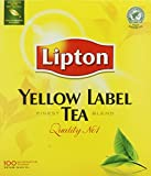 Best Lipton Tea Cups - Lipton Yellow Label 100 Tea Bags Review
