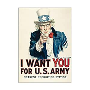 Paris - Musée de l'Armée - I want you for U.S. Army ( détail) - Carte postale 10,5 x 15 cm