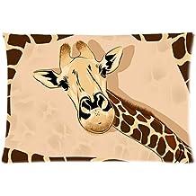Giraffe Custom Rectangle Pillow cases/Kissenbezüge 20x30 (one side) Home Decoration Pillow Cover W-PL84