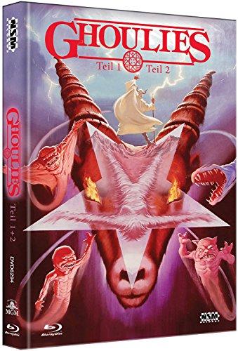 Bild von Ghoulies 1 & 2 [2 Blu-Ray+ 2 DVD] - uncut - auf 444 limitiertes Mediabook