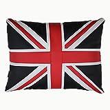 J&L Union Jack UK Flagge Kissen Kissenplüschstofftier Stuhlkissen Sitzkissen für Kinder Haus Dekoration 40*30cm