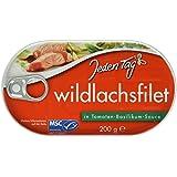 Jeden Tag MSC Wildlachsfilet Tomaten-Ba, 2er Pack (2 x 200 g)