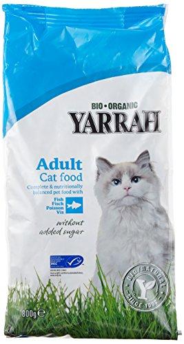 Yarrah Dry Cat Food Organic Fish, 800 g (Pack of 2)
