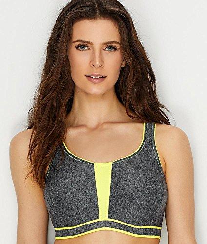 Prima Donna, Sport-BH mit Bügel ungefüttert, The Sweater 6000110 Cosmic Grey