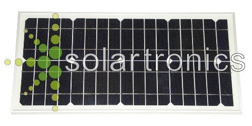 Preisvergleich Produktbild Solarmodul Solarpanel 25 Watt mono Photovoltaik