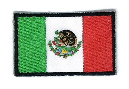 Bandera México bordado Applique parche planchar nuevo