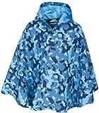 Trespass - Poncho da ragazzo, motivo: mimetico, Blu (blu), Taglia unica