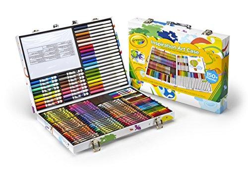 Crayola Valigetta Arcobaleno Per Colorare e Disegnare, Età 4 Anni, per Gioco e Regalo, Colori Assortiti, 140 Pezzi, 04-2532 confronta il prezzo online