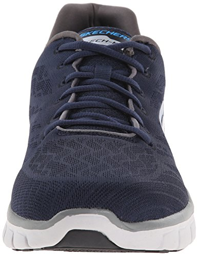 Skechers Synergy Fine Tune, Chaussures Multisport Outdoor homme Bleu (Nvgy)