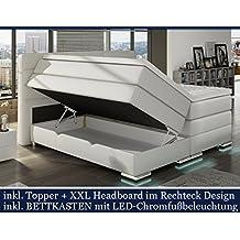 Boxspringbett mit bettkasten elektrisch  Suchergebnis auf Amazon.de für: boxspringbett 180x200 elektrisch