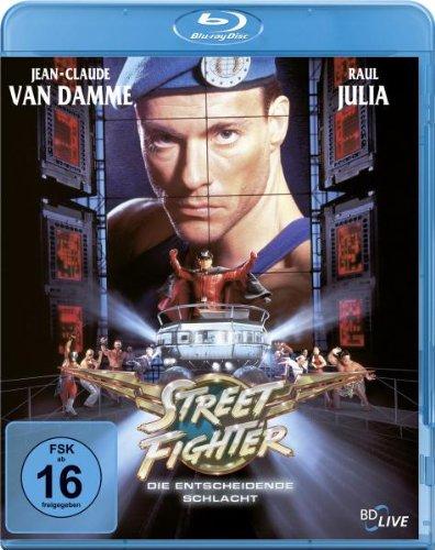 Fighter Film Street (Street Fighter - Die entscheidende Schlacht [Blu-ray])