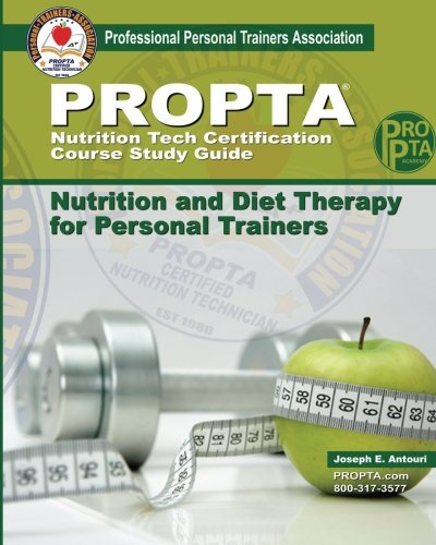 PROPTA Nutrition Tech Certification Course Study Guide