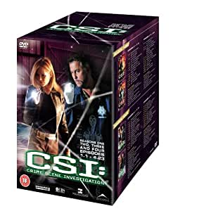 CSI: Crime Scene Investigation Seasons 1-4 Box Set  [DVD]