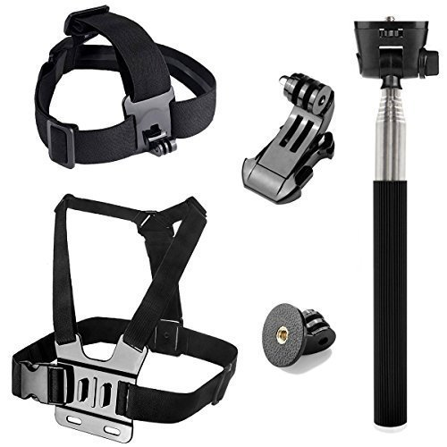 Rhodesy GoPro Accessori Set per Gopro Hero5 Session Hero4 Session Hero Session Hero 5 4 3 2 Videocam