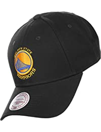 Mitchell & Ness Golden State Warriors Cap - Team Logo - Schwarz