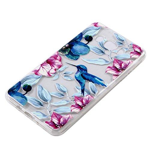 Custodia Samsung Galaxy J7 2016, Samsung Galaxy J7 2016 Cover Silicone Trasparente, SainCat Custodia in Morbida TPU Protettiva Cover per Samsung Galaxy J7 2016, 3D Creative Design Transparent Silicone cazzo