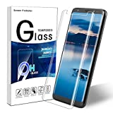Galaxy S8 Plus Panzerglas Schutzfolie,Samsung Galaxy S8 Plus 3D Anti-Kratzen Displayschutzfolie 9H Displayschutz Gehärtetem Glasfolie Für Samsung Galxy S8+