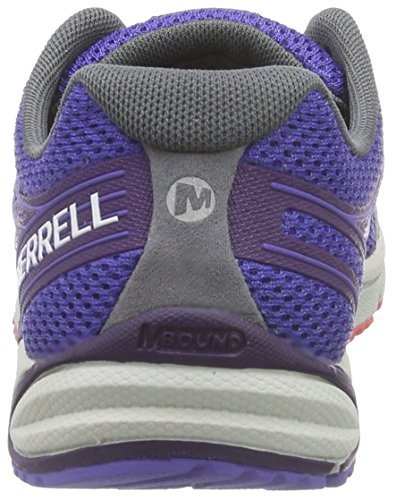 Merrell BARE ACCESS ARC 4 Damen Laufschuhe Multicolore (Light Blue/Bright Yellow)