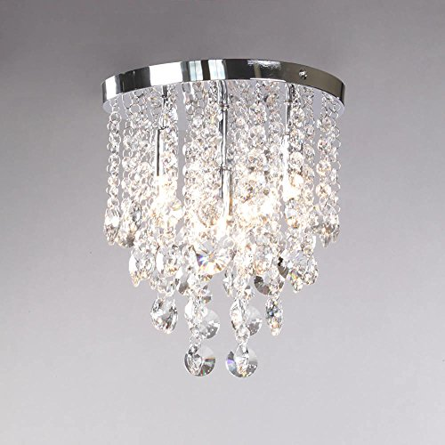 Montego 4 Light Ceiling Light - Chrome