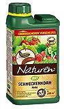 Naturen Bio Schneckenkorn Forte, Anwendungsfertiges Ködergranulat zur Schneckenbekämpfung im Garten und Gewächshaus, 600g Streudose für 200m²